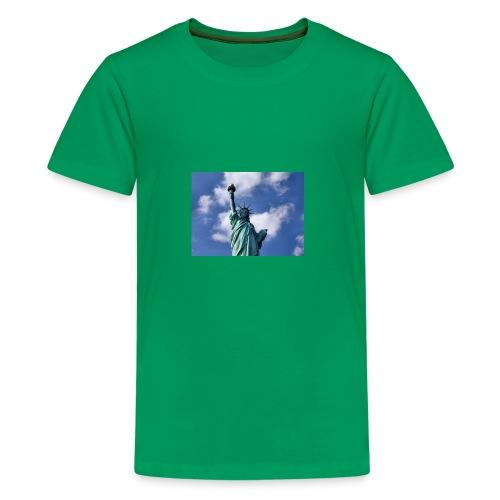 Freiheitsstatue - Teenager Premium T-Shirt