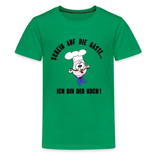 koch restaurant weihnachten gaeste - Teenager Premium T-Shirt