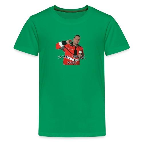 Sievi mit RR-Manschette SO'N BLUTDRUCK, DOOO! - Teenager Premium T-Shirt