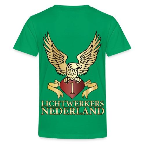Lichtwerkers Nederland - Teenager Premium T-shirt