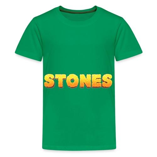 Stones - Premium-T-shirt tonåring