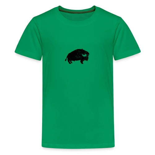 Bison Büffel Vintage - Teenager Premium T-Shirt