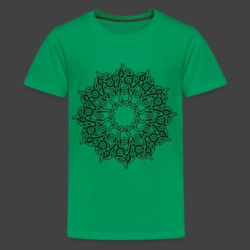 RF052 - BLACK - Teenage Premium T-Shirt