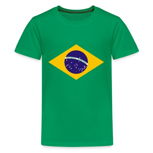 NOT BRAZIL - NORN IRON - Teenage Premium T-Shirt