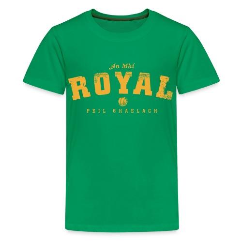meath vintage - Teenage Premium T-Shirt