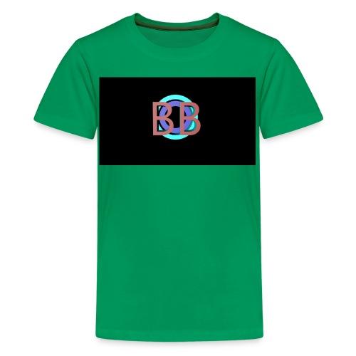 BB Logo - Premium T-skjorte for tenåringer