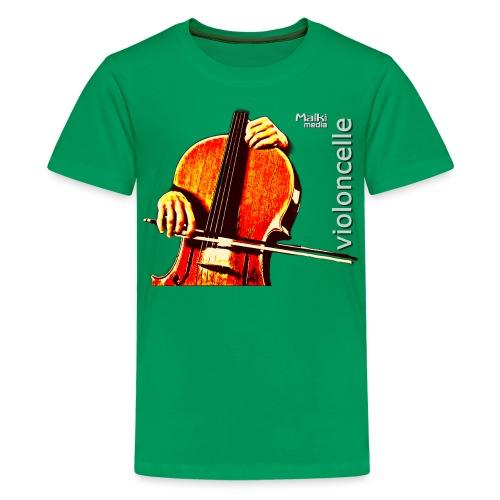violonchelo - Camiseta premium adolescente