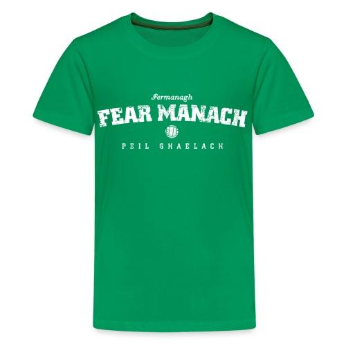 fermanagh vintage - Teenage Premium T-Shirt
