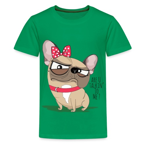 Are U Talkin to me ? - T-shirt Premium Ado