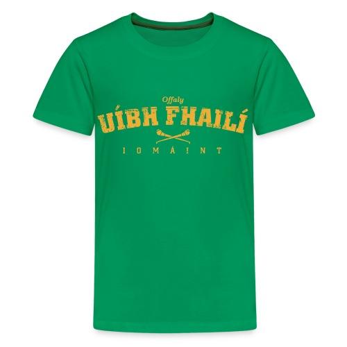 offaly vintage - Teenage Premium T-Shirt