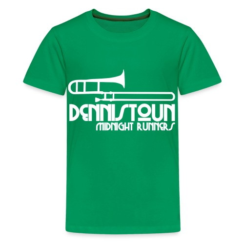 Dennistoun Midnight Runners - Teenage Premium T-Shirt
