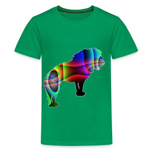 der Löwe hat die Stärke - T-shirt Premium Ado