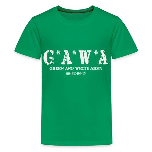 Northern Irelans GAWA bag - Teenage Premium T-Shirt
