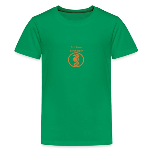 Seepferdchen - Teenager Premium T-Shirt