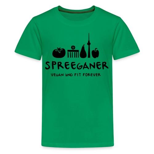 Spreeganer Logo - Teenager Premium T-Shirt