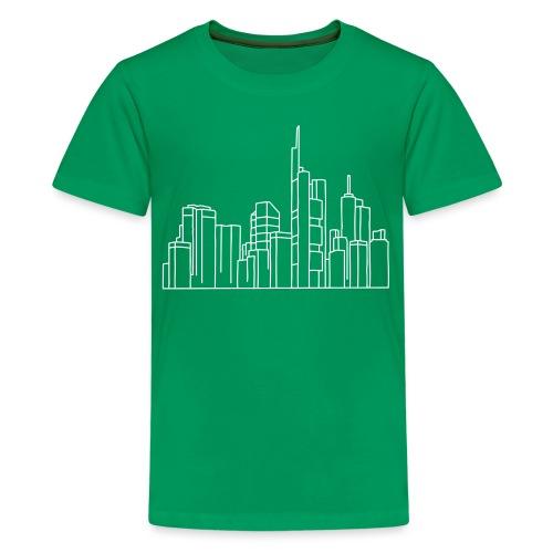 Città di Francoforte - Maglietta Premium per ragazzi