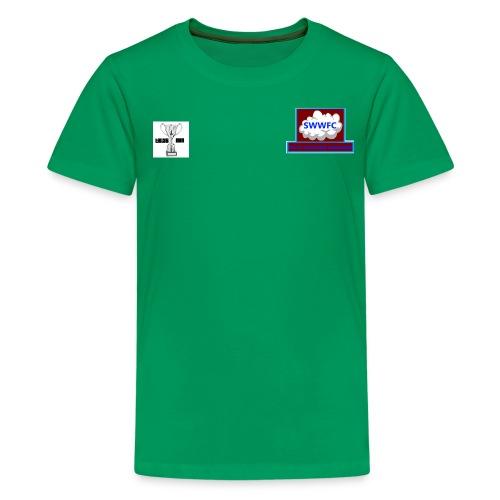 tiLLYS CUP LOGO png - Teenage Premium T-Shirt