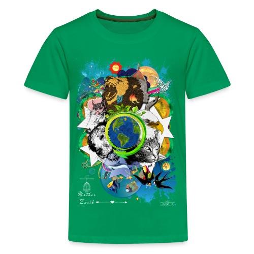 Mother Earth -by- T-shirt chic et choc - T-shirt Premium Ado