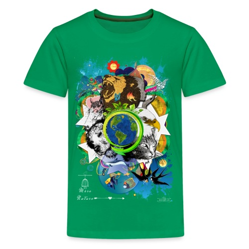 Terre Mère Nature -by- T-shirt chic et choc - T-shirt Premium Ado