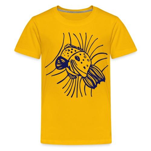 pesce1 - Maglietta Premium per ragazzi