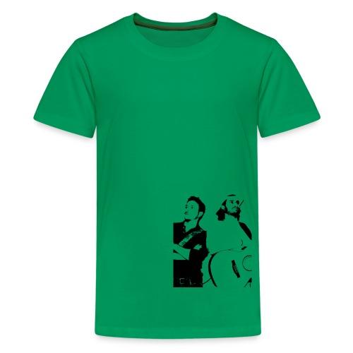 Das Schwarz-Weiße Bild - Teenager Premium T-Shirt