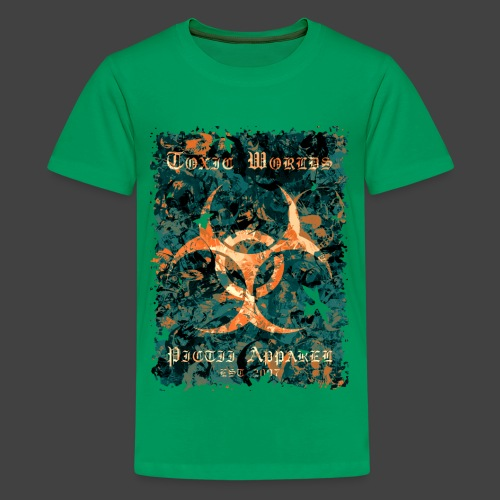 TOXIC WORLDS - 4B - Teenage Premium T-Shirt