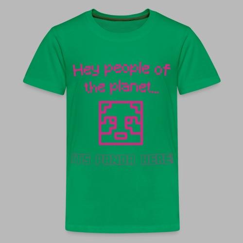 PlanetPanda Stroke - Teenage Premium T-Shirt