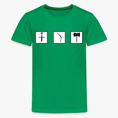 Aragorn's broken sword - Teenage Premium T-Shirt