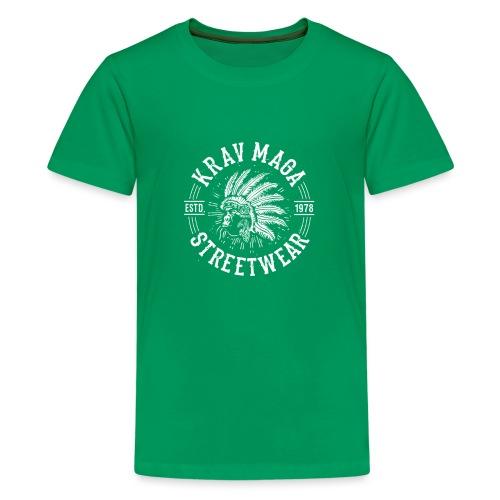 Krav Maga streetwear Feathered Monkey - T-shirt Premium Ado