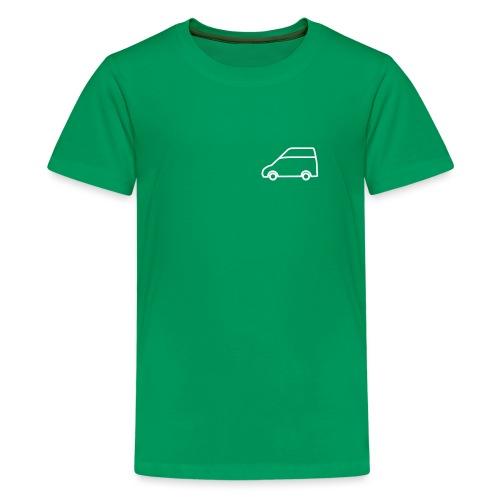 Nuggetforum.de Logo Nugget Hochdach - Teenager Premium T-Shirt