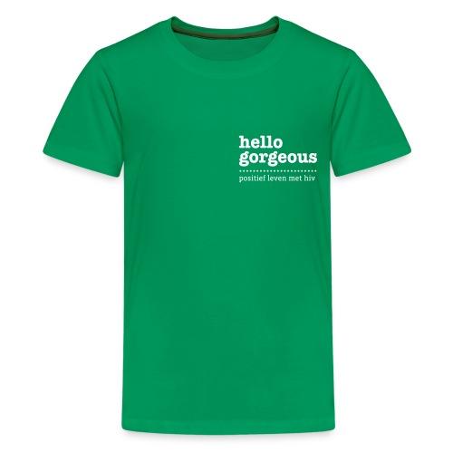 nieuwlogo2 - Teenager Premium T-shirt