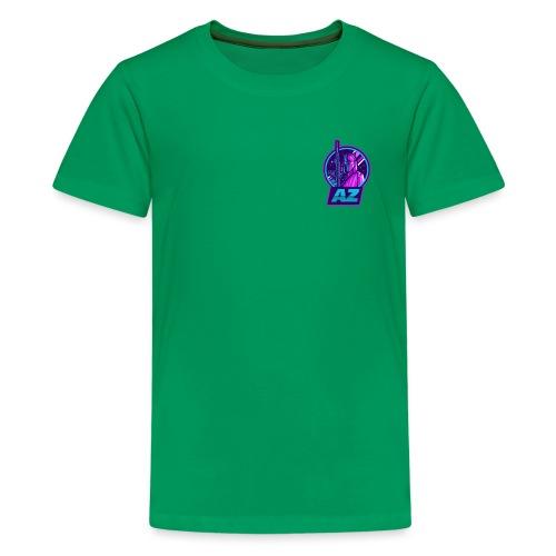 AZ GAMING LOGO - Teenage Premium T-Shirt