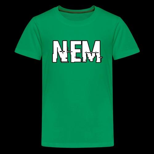 Untitled 1 png - Teenage Premium T-Shirt