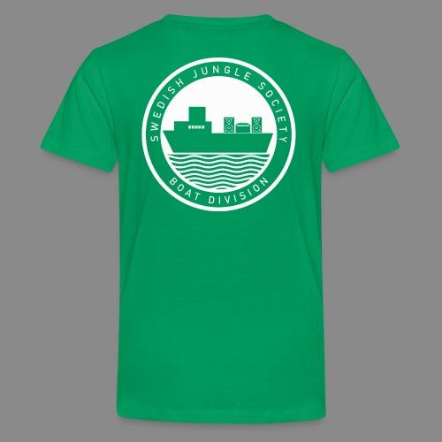 Boat Division Tshirt - Teenage Premium T-Shirt