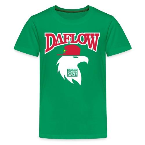 DANCER'S DAFLOW EAGLE EMBLEM - Teenager Premium T-Shirt