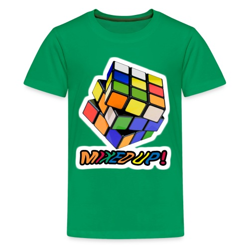 Rubik's Mixed Up! - Premium-T-shirt tonåring