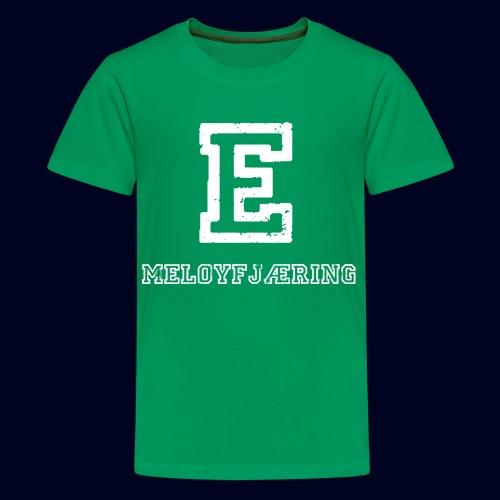 E - Meløyfjæring - Premium T-skjorte for tenåringer