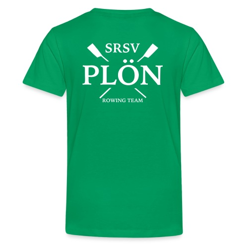 RowingTeam weiß - Teenager Premium T-Shirt