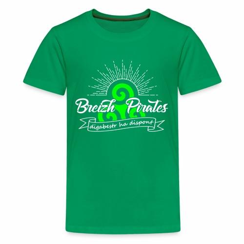 Breizh Pirates - T-shirt Premium Ado
