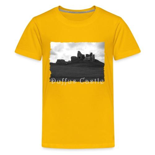 Duffus Castle #1 - Teenager Premium T-Shirt