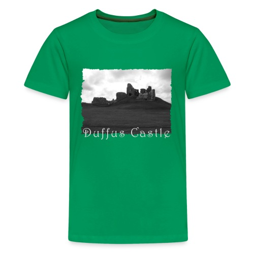 Duffus Castle #1 - Teenager Premium T-Shirt
