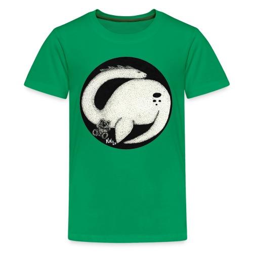Nessie Durmiente (Monstruo del lago Ness) - Camiseta premium adolescente