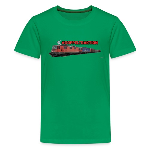 #Doppeltraktion Merchandise! - Teenager Premium T-Shirt