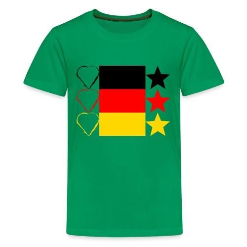 Liebe Deine Stars - Teenager Premium T-Shirt