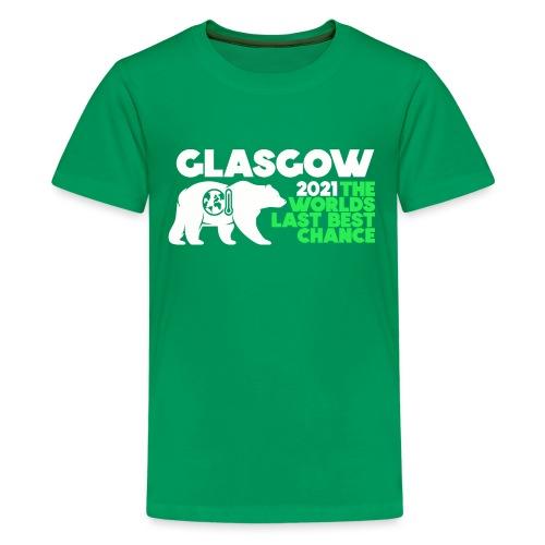 Last Best Chance - Glasgow 2021 - Teenage Premium T-Shirt