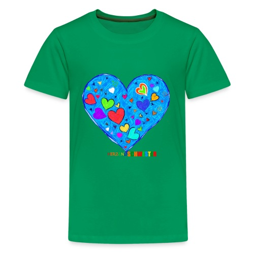 HerzensSchwester - Teenager Premium T-Shirt