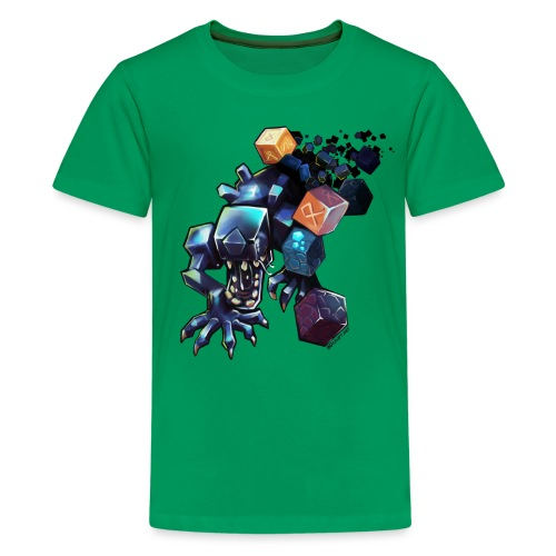 BDcraft Alien - Teenage Premium T-Shirt