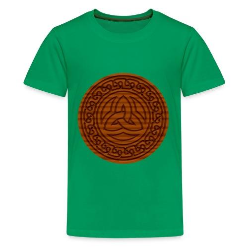 Triquetra Celtic Knot - Teenage Premium T-Shirt
