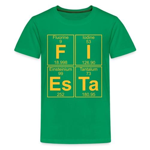 F-I-Es-Ta (fiesta) - Full - Teenage Premium T-Shirt