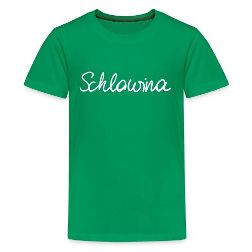 Schlawina - Teenager Premium T-Shirt